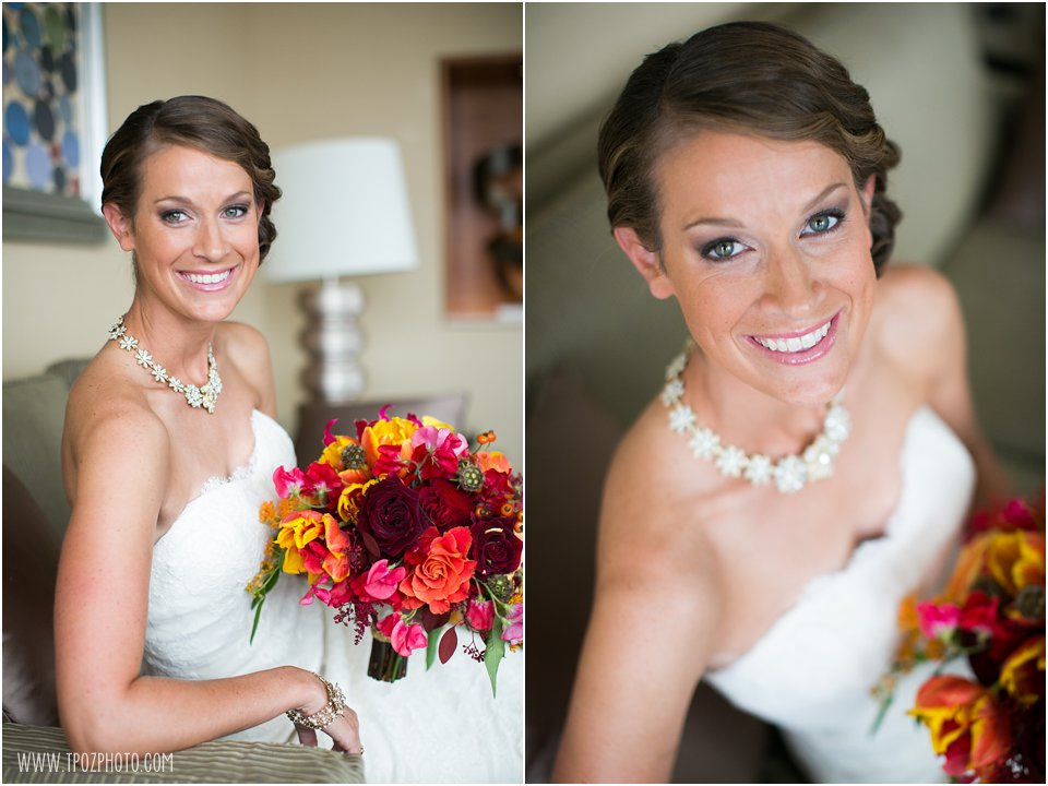 Bridal portraits at the Four Seasons Baltimore