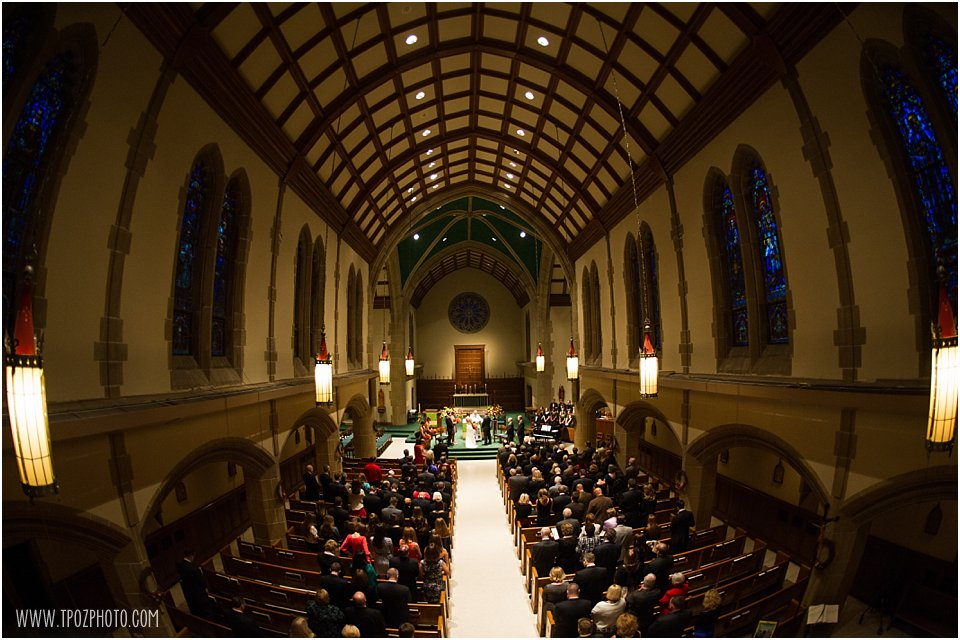 Loyola College Chapel Wedding Ceremony