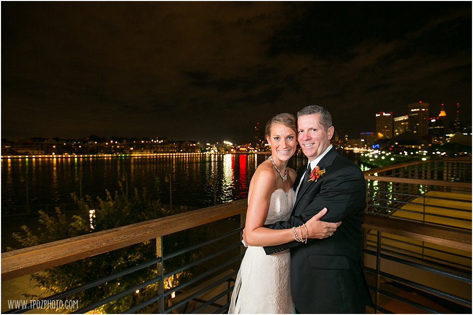 Night Photography -  Four Seasons Baltimore Wedding