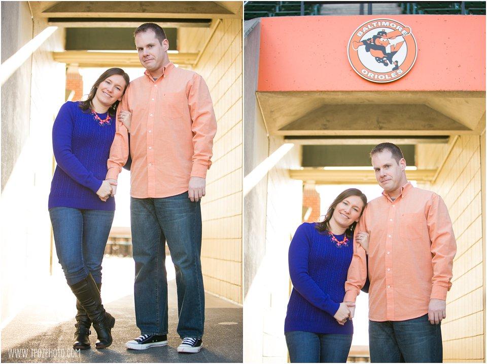 Oriole Park Engagement Photos