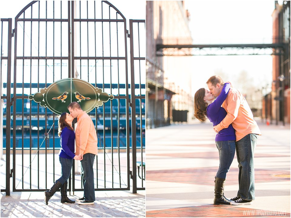 Oriole Park at Camden Yards Engagement Photos