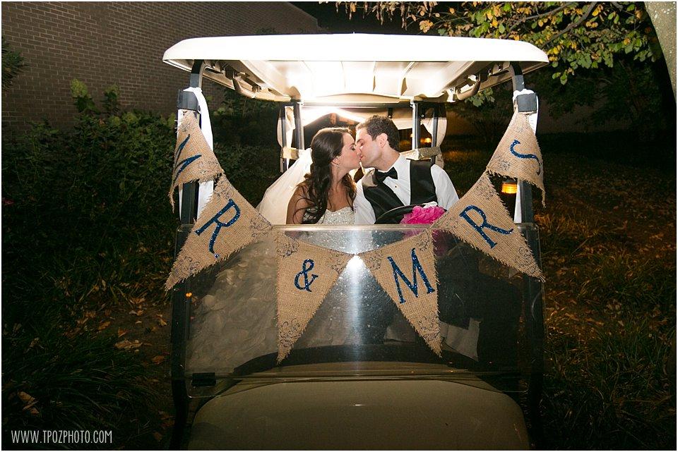 Getaway golf cart
