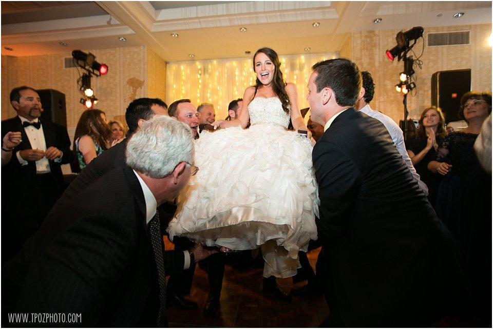 Suburban Country Club Wedding Horah