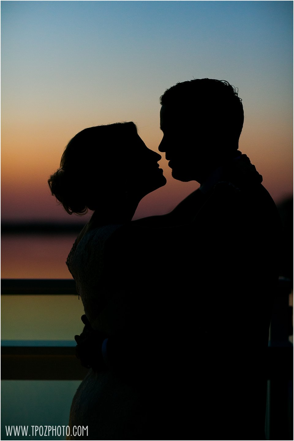 Sunset Photos - The Reeds at Shelter Haven Wedding Photos