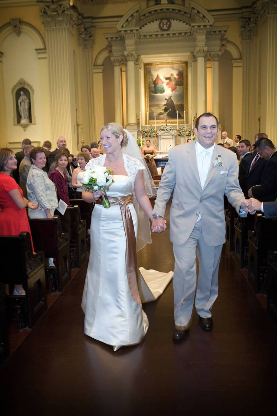 St. Ignatius Church Baltimore Wedding Ceremony