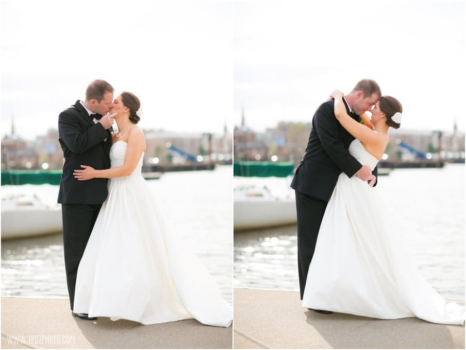Baltimore Museum of Industry Wedding Portraits
