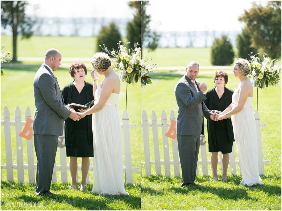 Jefferson Patterson Park Wedding Ceremony
