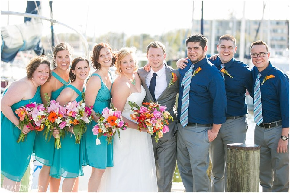 Port Annapolis Marina Wedding Photos • tPoz Photography • www.tpozphoto.com