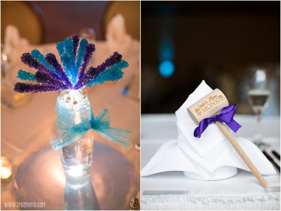 Wedding Reception at Hillendale Country Club  •  tPoz Photography  •  www.tpozphoto.com