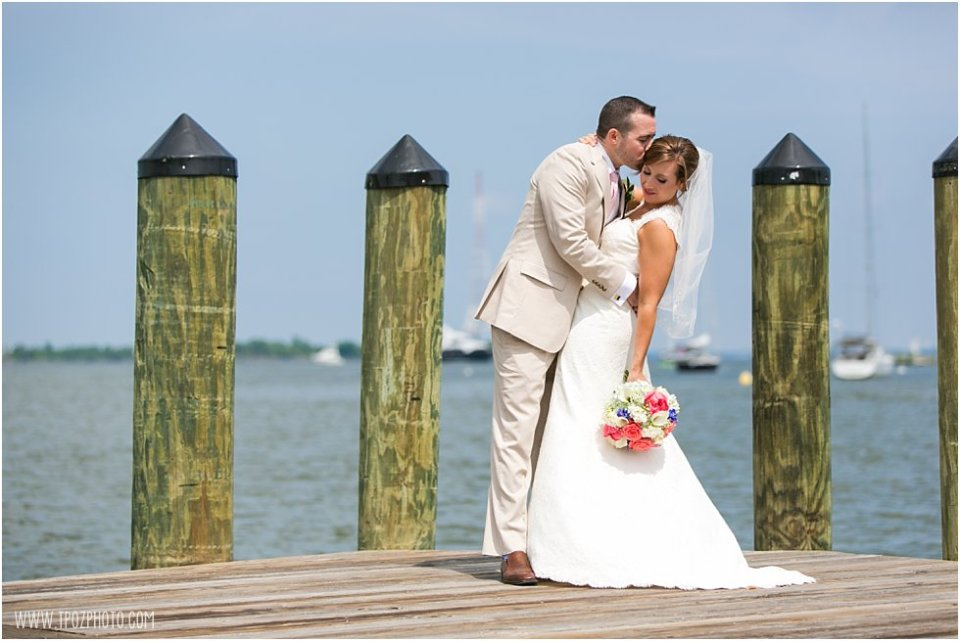 Wedding Portraits Docks of Annapolis  •  tPoz Photography  •  www.tpozphoto.com