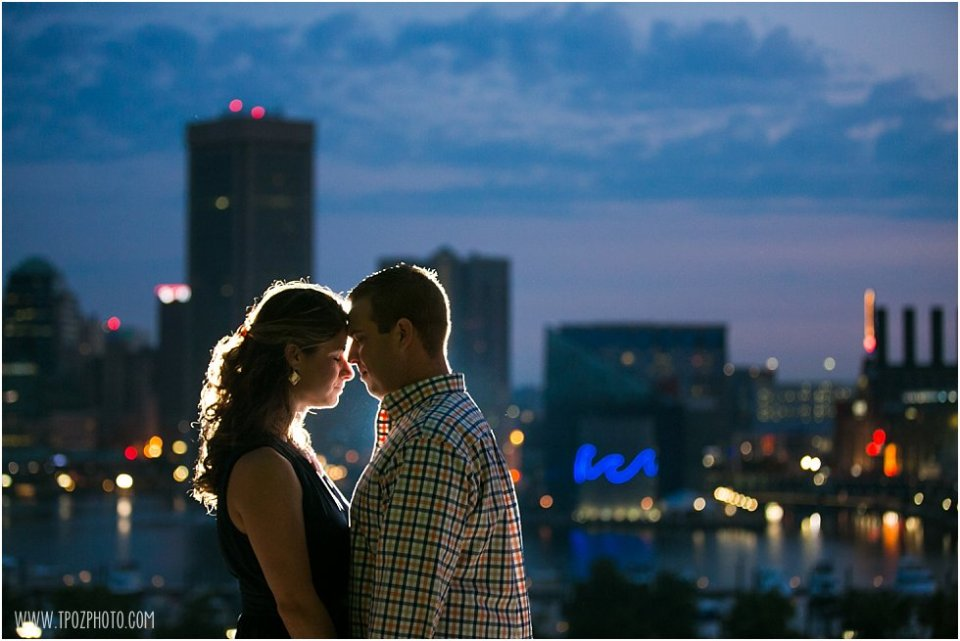Baltimore Sunrise Engagement Photos  •  tPoz Photography  •  www.tpozphoto.com