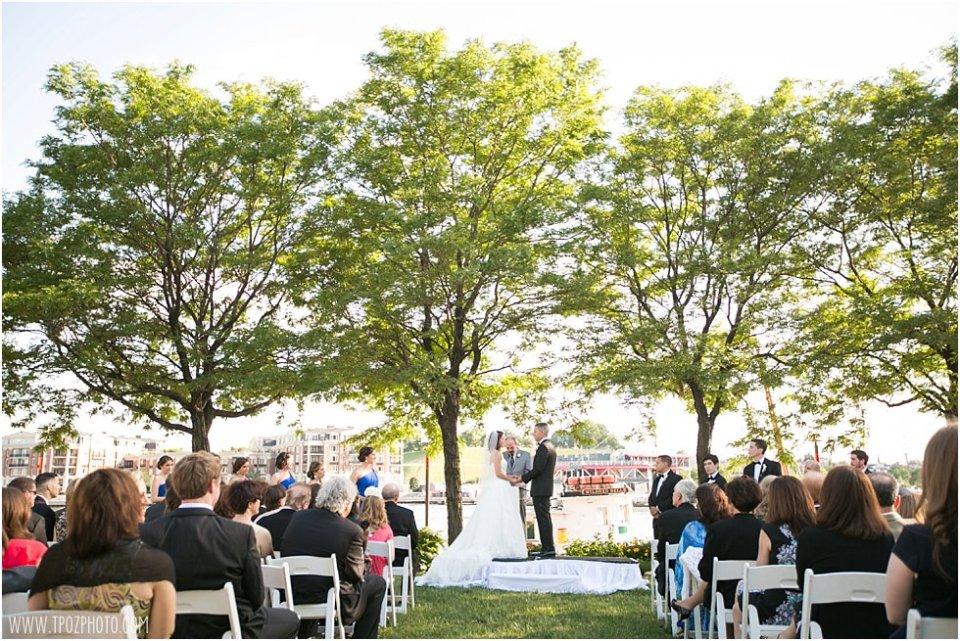 Pier 5 Hotel Wedding Ceremony Photos •  tPoz Photography  •  www.tpozphoto.com
