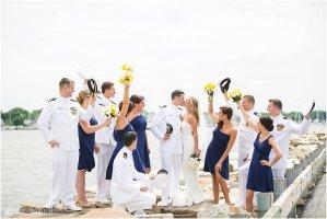 Naval Academy Annapolis Maritime Museum wedding