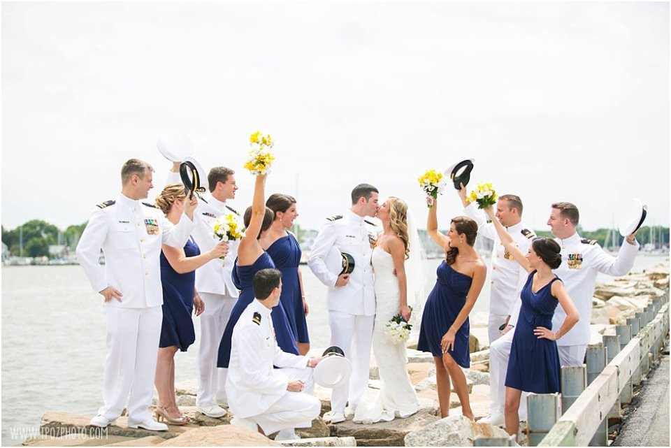 Naval Academy Wedding Photos  •  tPoz Photography  •  www.tpozphoto.com