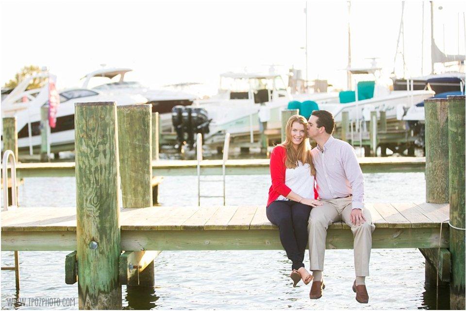 Annapolis Maritime Museum Engagement Photos  •  tPoz Photography  •  www.tpozphoto.com