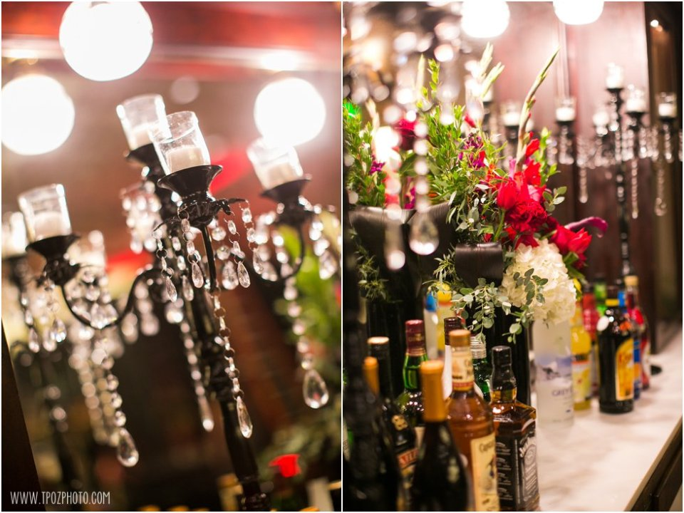 Moore & Co Event Stylists - Speakeasy Themed Holiday Party at The Hotel at Arundel Preserve • tPoz Photography - Baltimore Wedding Photographer • www.tpozphoto.com