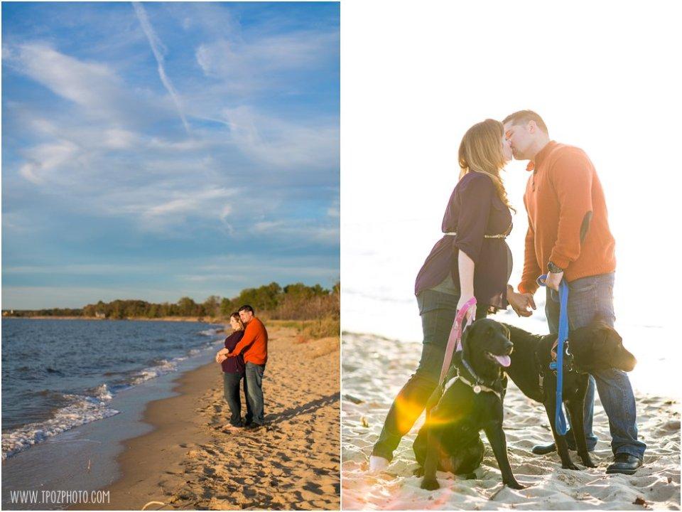 Terrapin Beach Maternity Photos  •  tPoz Photography  •  www.tpozphoto.com