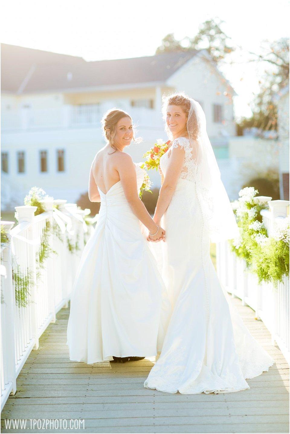 The Oaks lesbian wedding  •  tPoz Photography  •  www.tpozphoto.com
