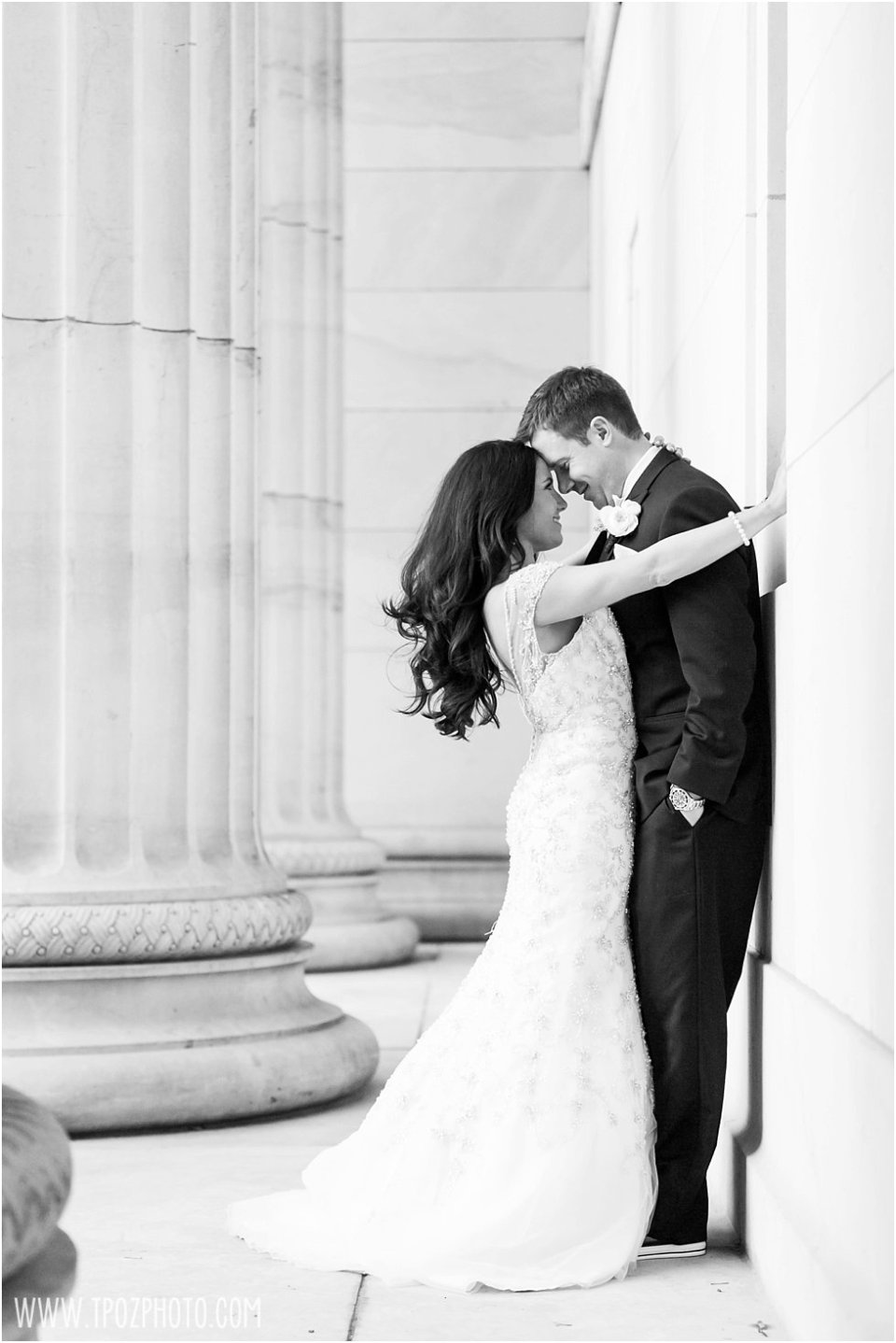 Sexy Sultry Black Tie Baltimore wedding photo  •  tPoz Photography  •  www.tpozphoto.com