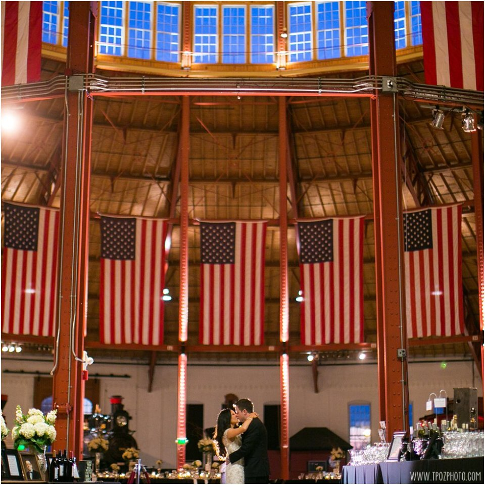 B&O Railroad Museum Wedding Reception  •  tPoz Photography  •  www.tpozphotoblog.com