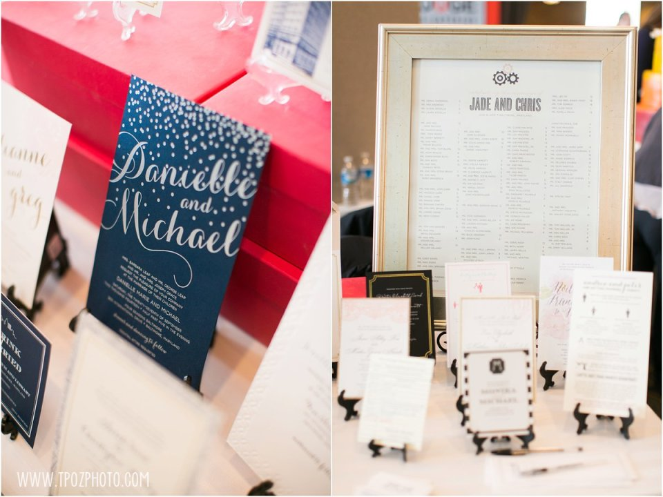 Just Ink on Paper - Baltimore Bride Aisle Style Event January 2015  •  tPoz Photography  •  www.tpozphoto.com