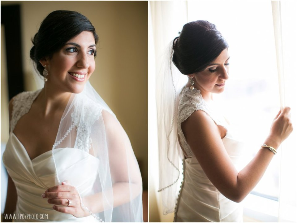 Wedding Getting Ready at the Baltimore Hilton  •  tPoz Photography  •   www.tpozphoto.com