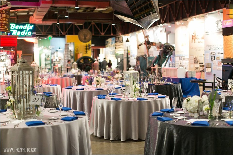 Wedding Reception at the Baltimore Museum of Industry   •  tPoz Photography  •   www.tpozphoto.com