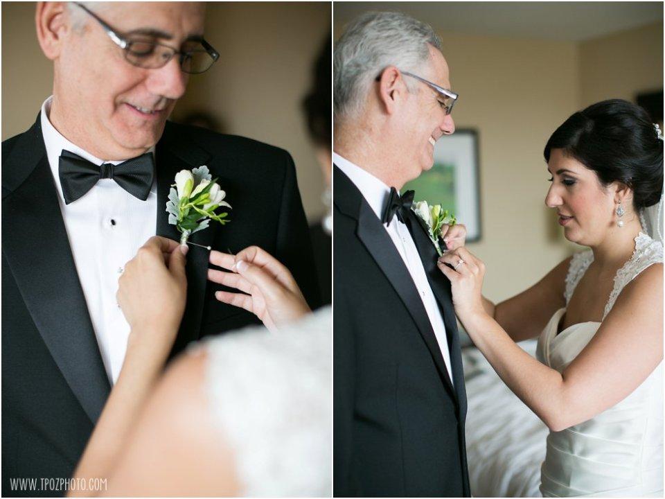 Wedding Getting Ready at the Baltimore Hilton  •  tPoz Photography  •  www.tpozphoto.com