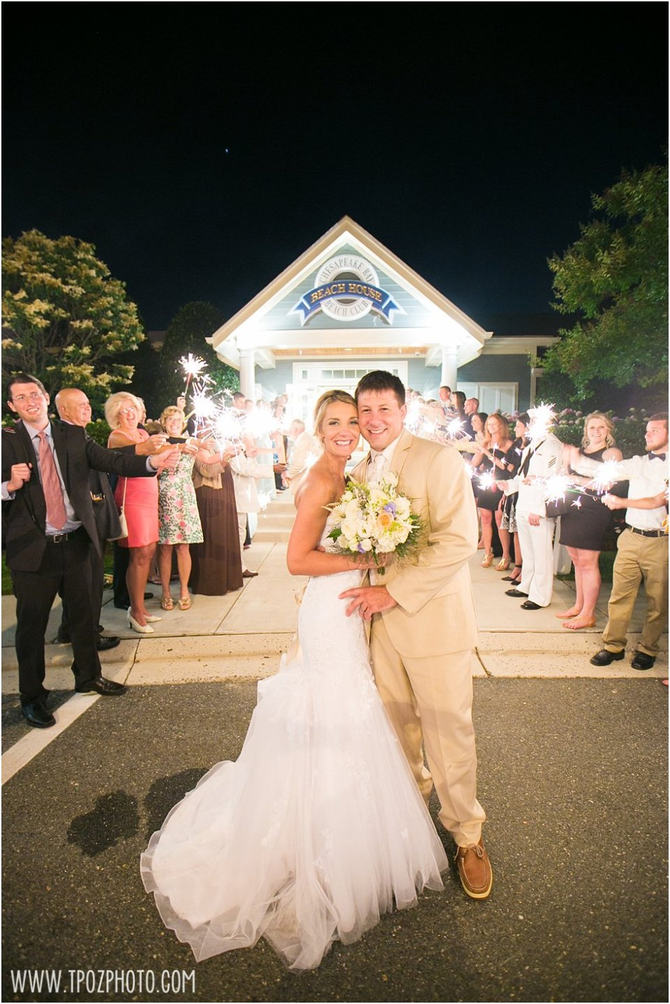 Wedding at the Chesapeake Bay Beach Club • tPoz Photography •  www.tpozphoto.com