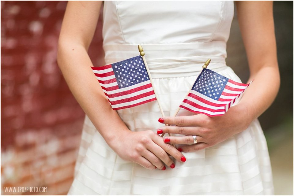 4th of July wedding inspiration - styled shoot •  tPoz Photography • www.tpozphoto.com