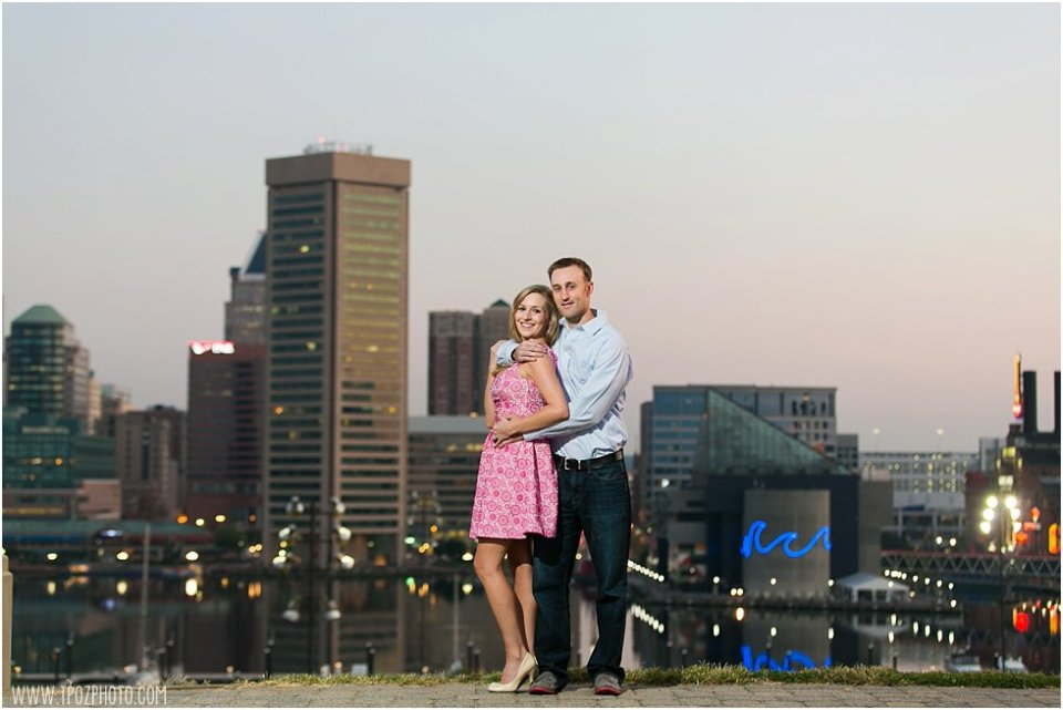 Federal Hill Sunrise Engagement Photos •  tPoz Photography •  www.tpozphotoblog.com