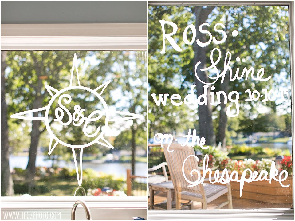 Chesapeake Bay Beach Club - Beach House Wedding || tPoz Photography || www.tpozphoto.com