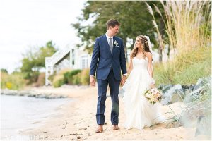 Chesapeake Bay Beach Club Wedding - Tavern Ballroom •  tPoz Photography