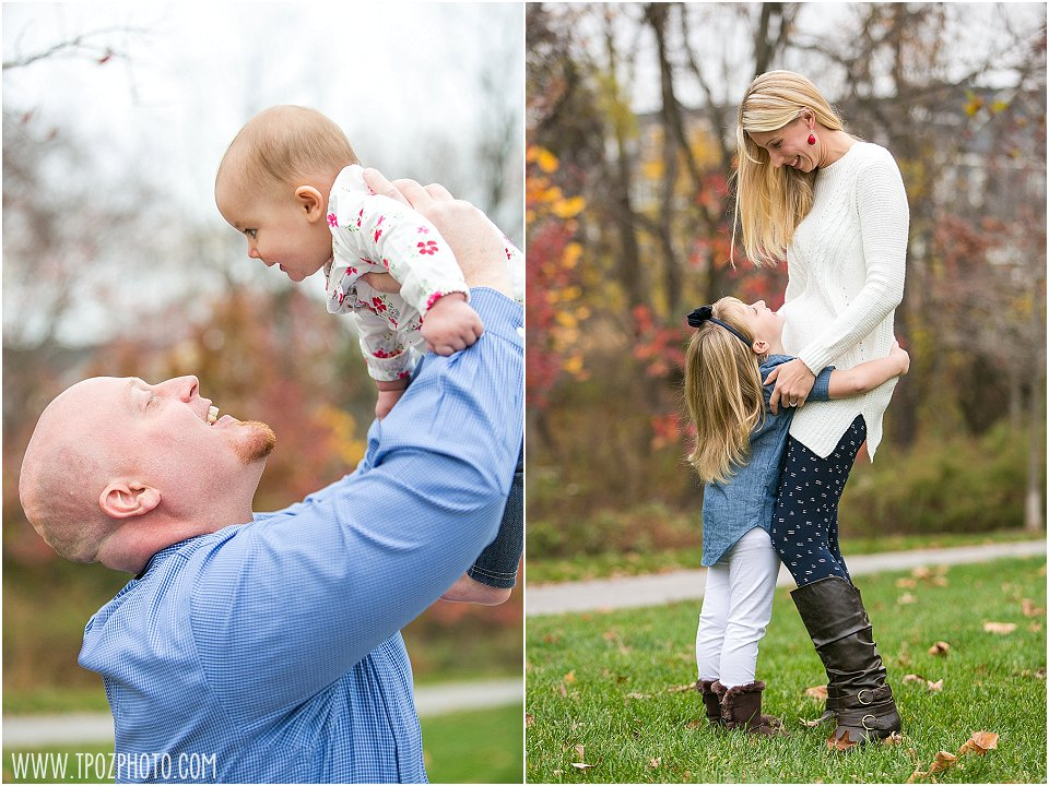 Fall Family Portrait || tPoz Photography || www.tpozphoto.com