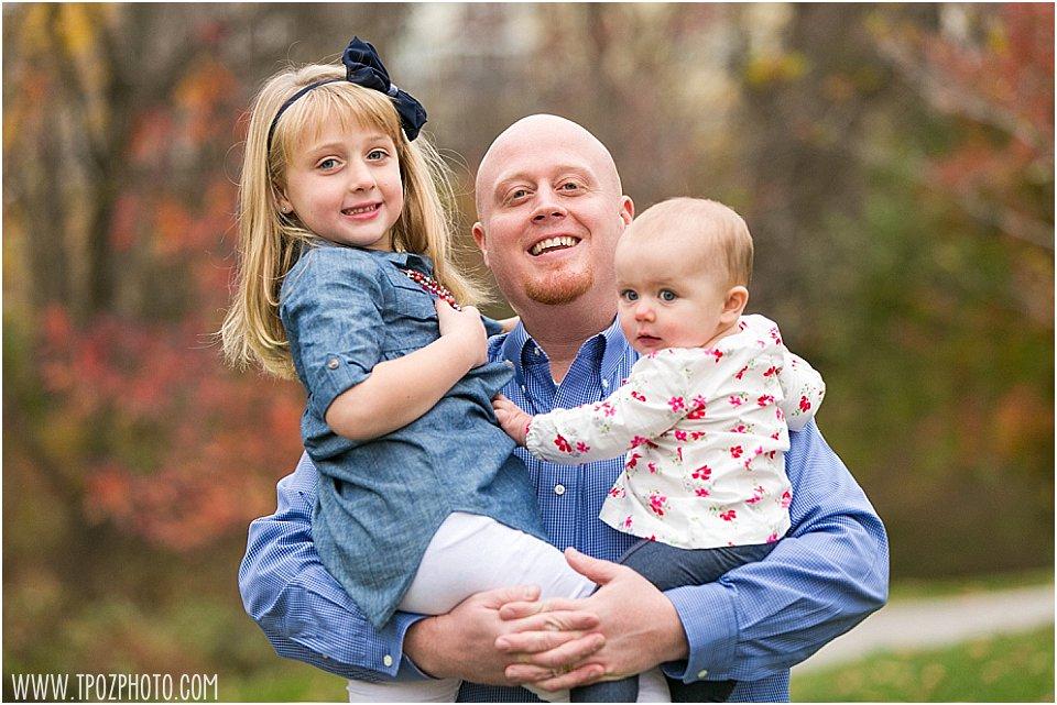 Fall Family Portrait    tPoz Photography    www.tpozphoto.com