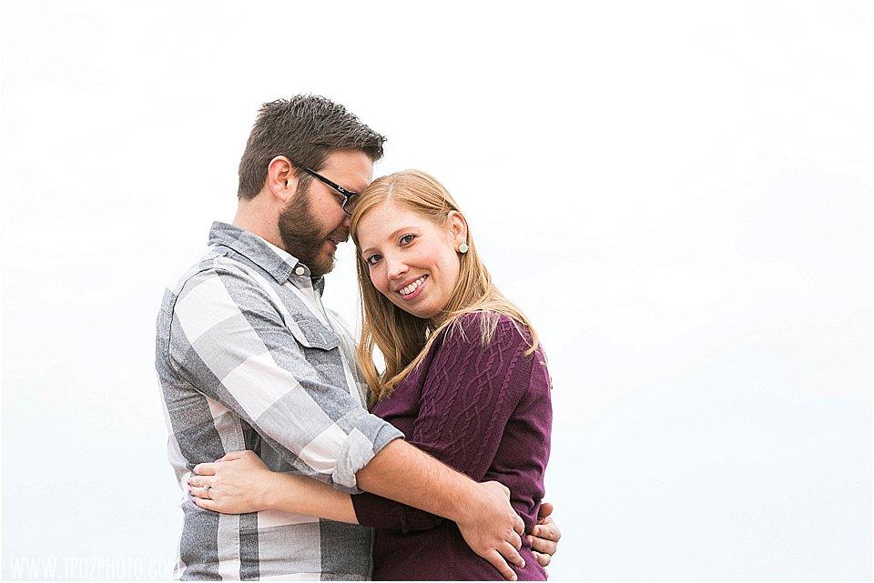 Inner Harbor Engagement Session || tPoz Photography || www.tpozphoto.com