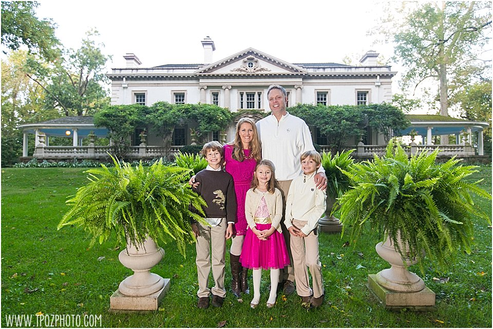 Liriodendron Mansion Family Portrait •  tPoz Photography •  www.tpozphoto.com