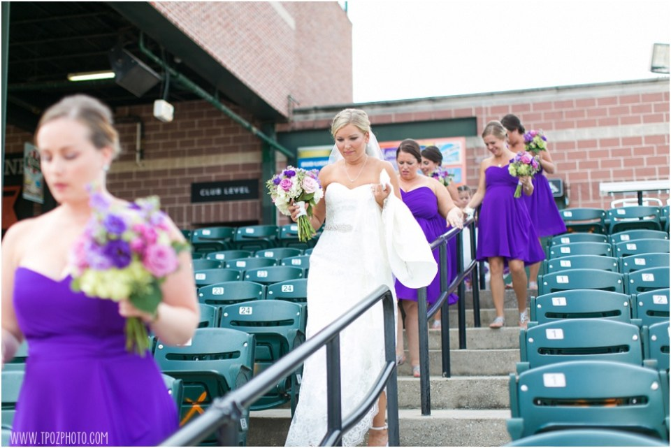 Ripken Stadium Wedding • tPoz Photography