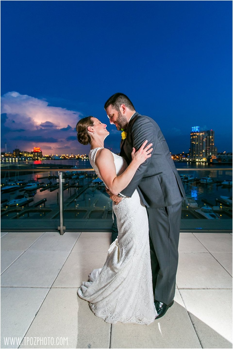 Legg Mason Tower Wedding •  tPoz Photography •  www.tpozphoto.com