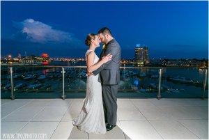 Legg Mason Tower Wedding • tPoz Photography • www.tpozphoto.com