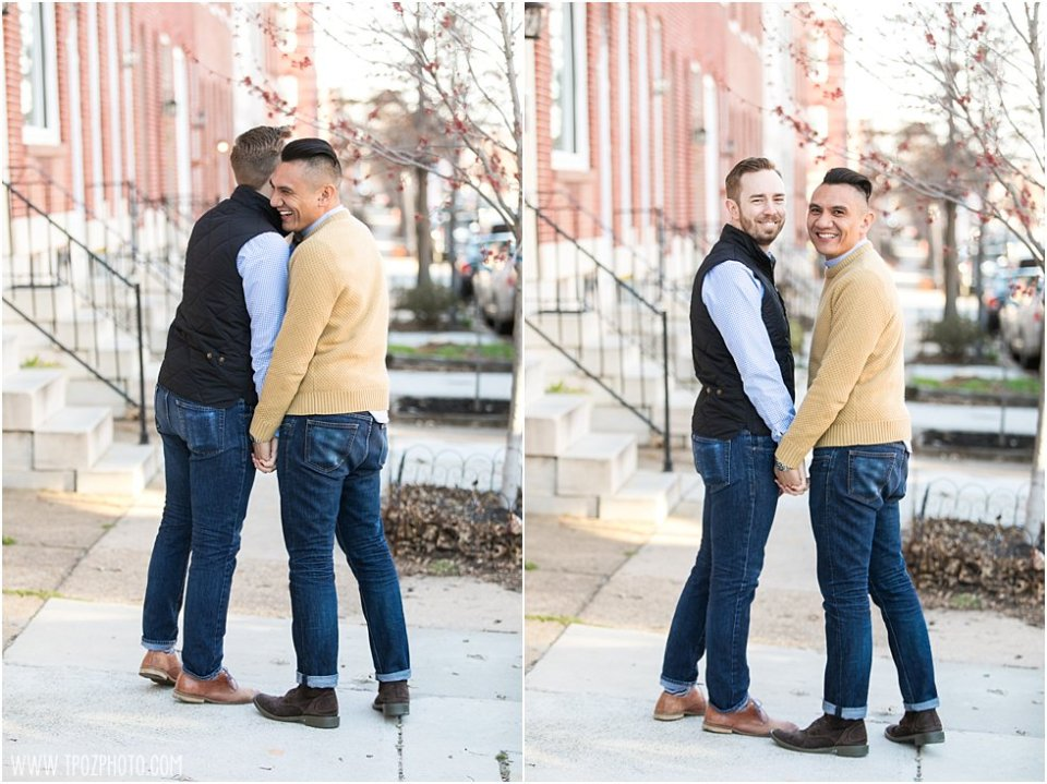 Mount Vernon Baltimore Engagement Session • tPoz Photography •  www.tpozphoto.com
