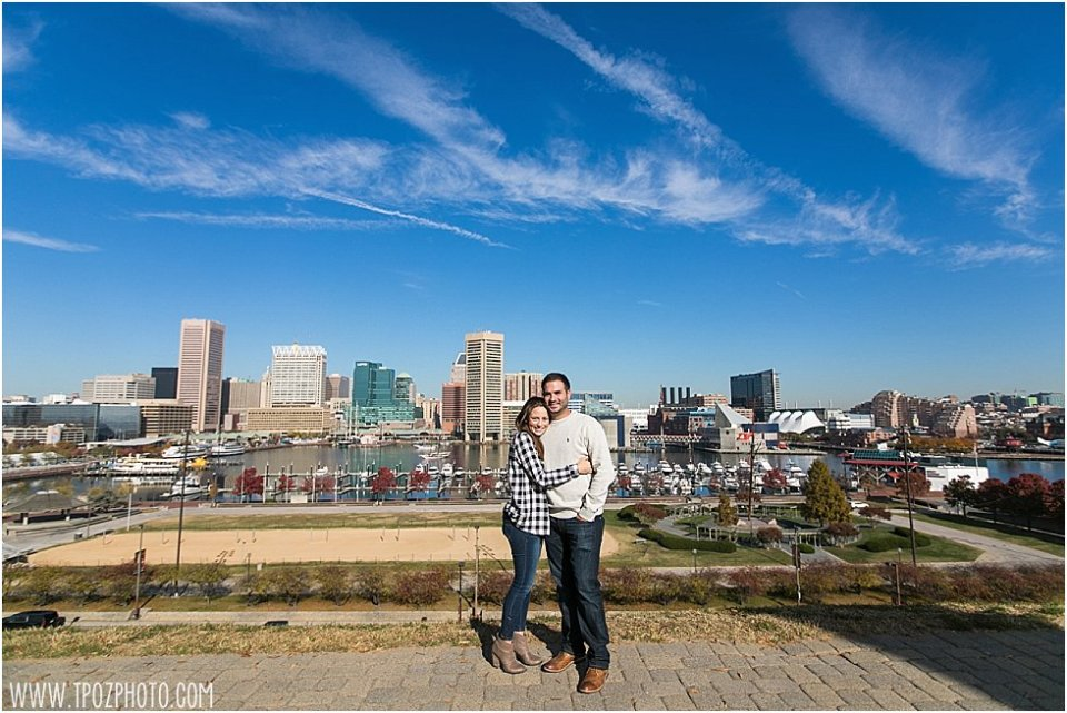 Proposal on Federal Hill || tPoz Photography || www.tpozphoto.com