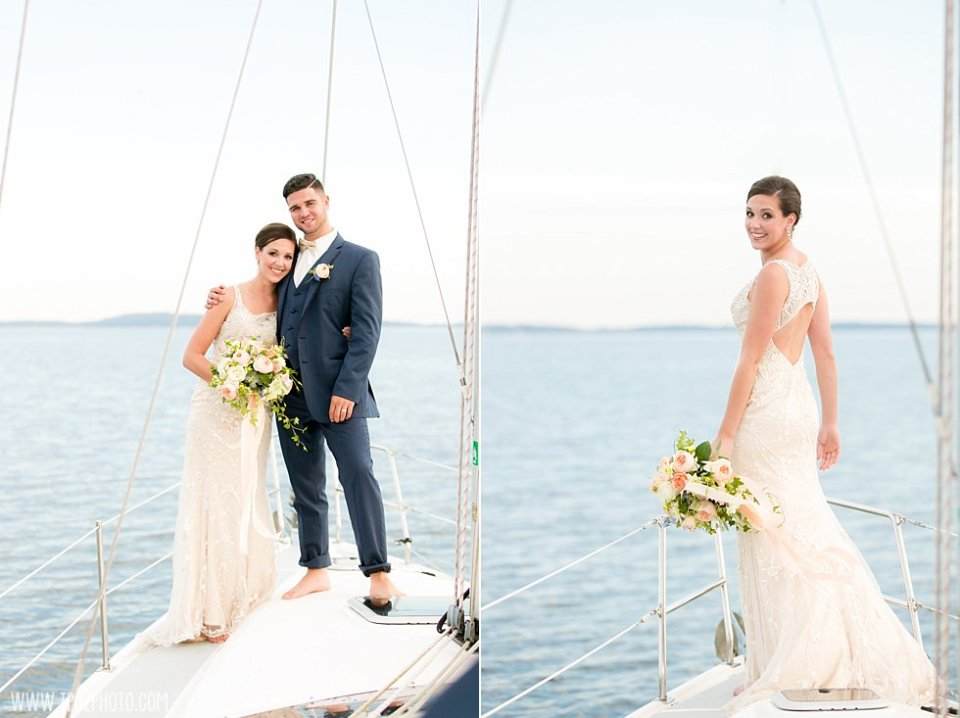 Sailing on a Boat Wedding Styled Shoot •  tPoz Photography •  www.tpozphoto.com