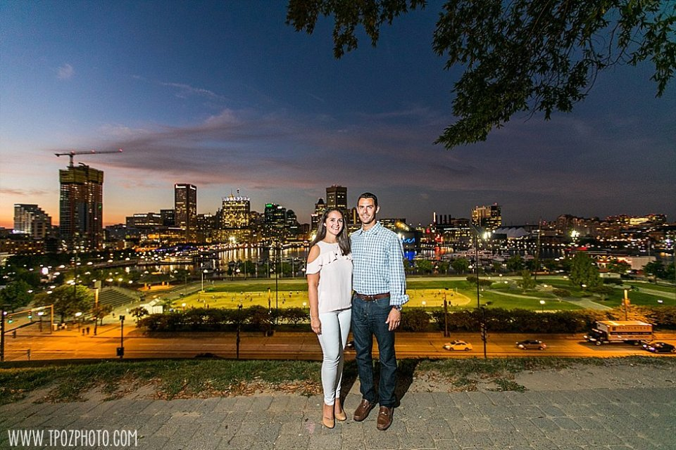 South Baltimore Engagement Session || tPoz Photography || www.tpozphoto.com
