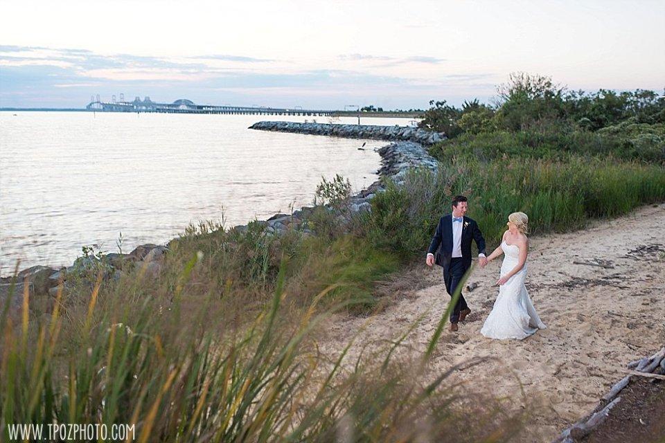 Chesapeake Bay Beach Club Wedding || tPoz Photography || www.tpozphoto.com