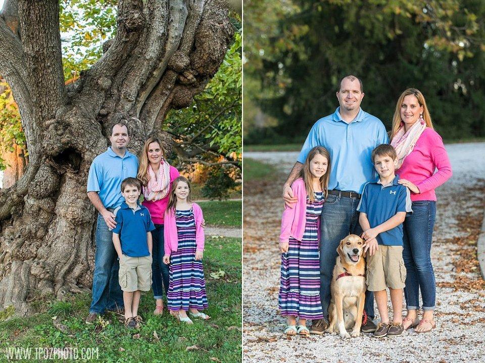 Hampton Mansion Family Portrait || tPoz Photography || www.tpozphoto.com
