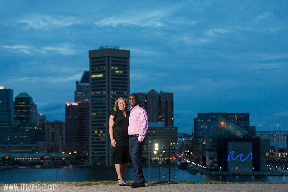 Sparrows Point Engagement Session || tPoz Photography || www.tpozphoto.com