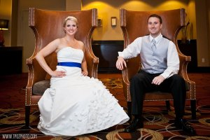 Doubletree hotel at BWI wedding