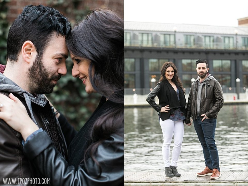 Sagamore Pendry Fells Point Engagement Session || tPoz Photography || www.tpozphoto.com