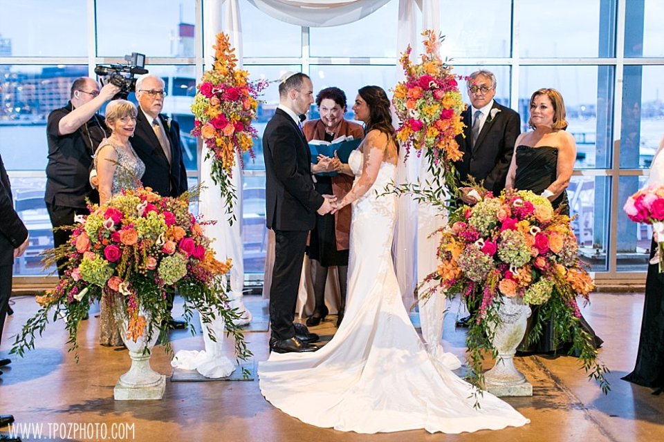 Baltimore Museum of Industry Wedding || tPoz Photography || www.tpozphoto.com